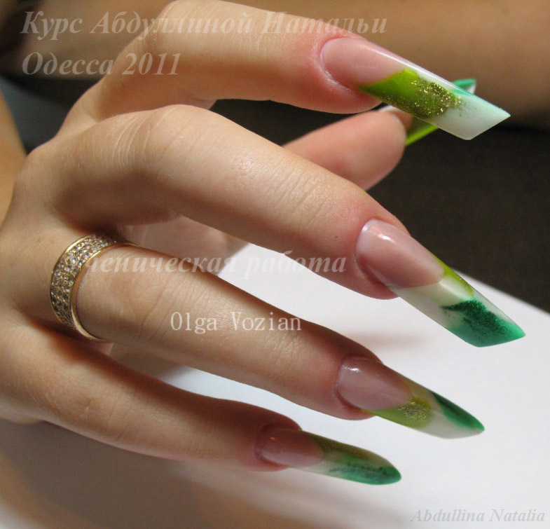 Названия дизайна ногтей